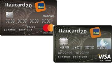 Cartão de crédito Itaucard 2.0 e Platinum