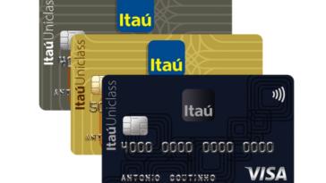 Cartões de crédito Itaú